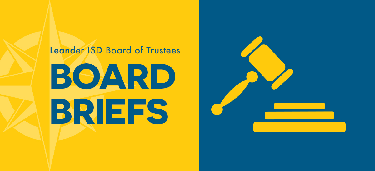 Board Briefs: Feb. 25, 2021