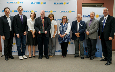 LISD Fine Arts Director Recognized at Board Meeting