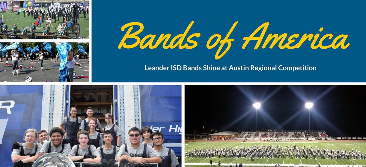 LISD Bands Shine at BOA Competition