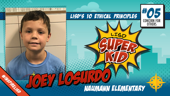 LISD Super Kid: Sept. 26, 2019
