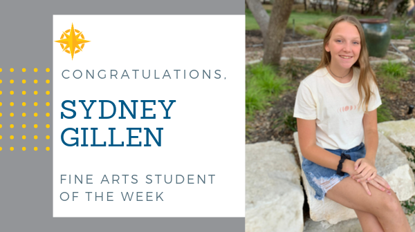 Fine Arts Student of the Week: Oct. 18, 2019