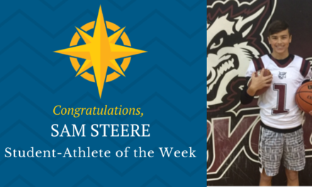Student-Athlete of the Week: Dec. 16, 2019