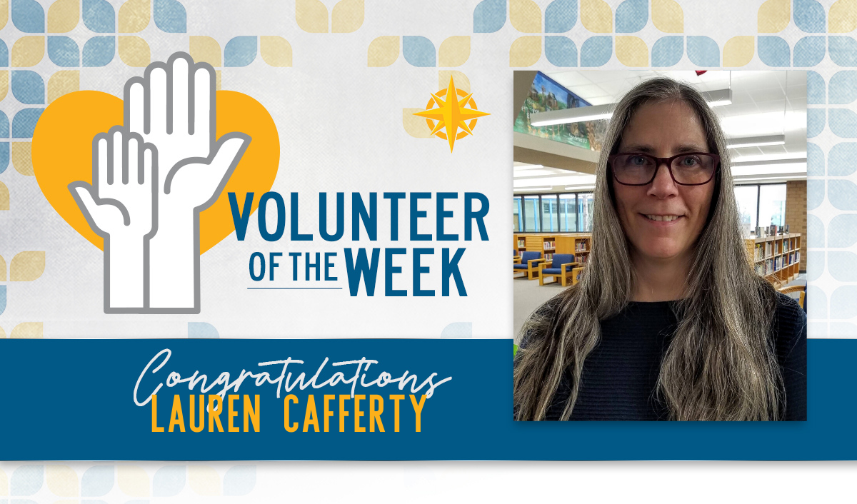 Volunteer of the Week: Lauren Cafferty