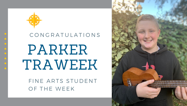 Fine Arts Student of the Week: Feb 7, 2020