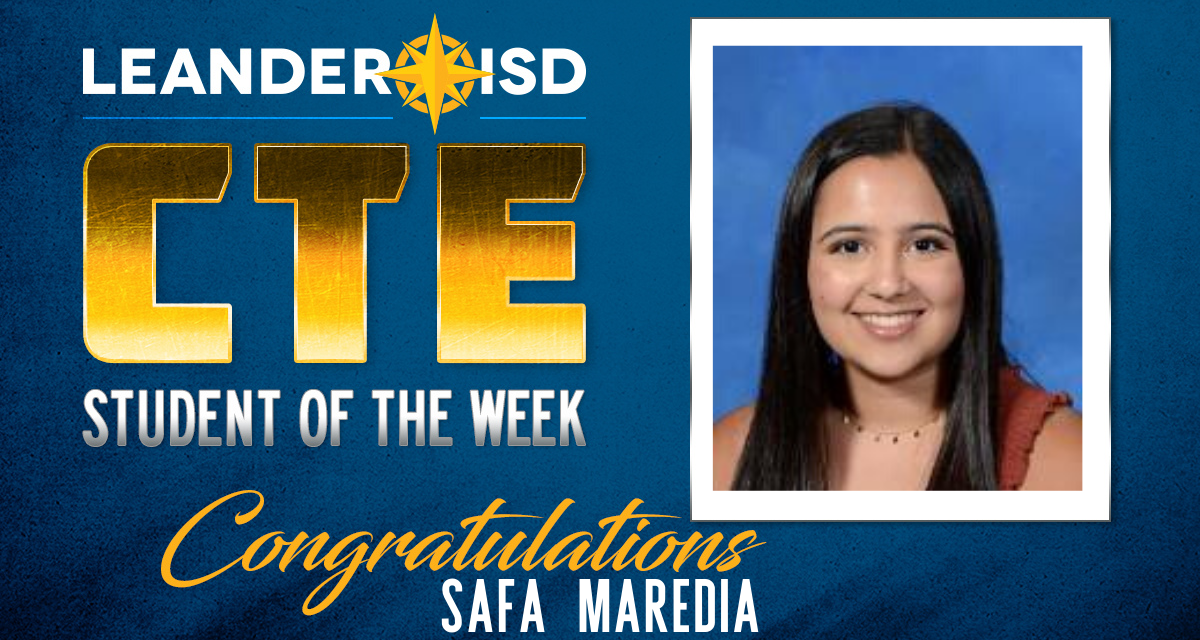 CTE Student of the Week: March 3, 2020