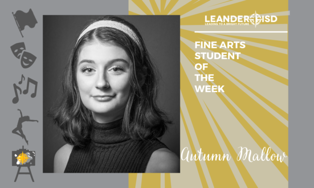 Fine Arts Student of the Week: Sept. 25, 2020