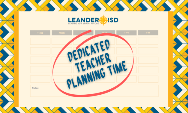 District Moves to Support Teachers with Dedicated Teacher Planning Time