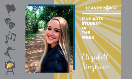Fine Arts Student of the Week: Nov. 6, 2020