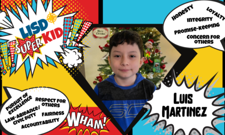 LISD Super Kid: April 8, 2021